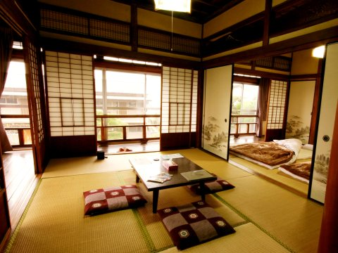 whole floor of a traditional japanese house build in 1934 which is